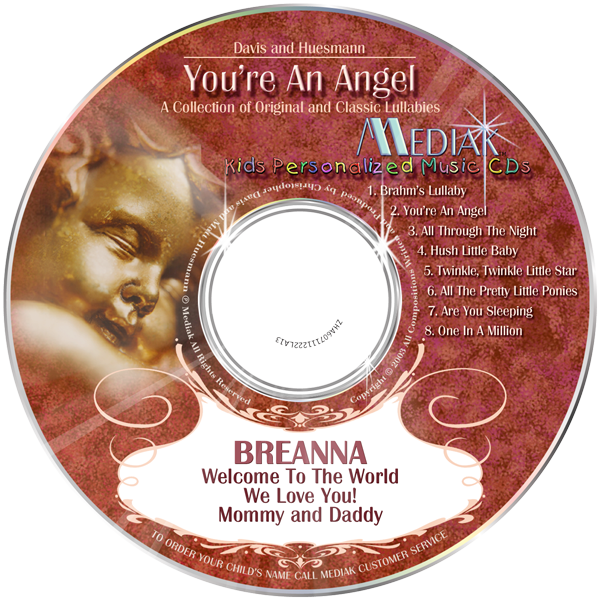 MP3 - You're An Angel CD