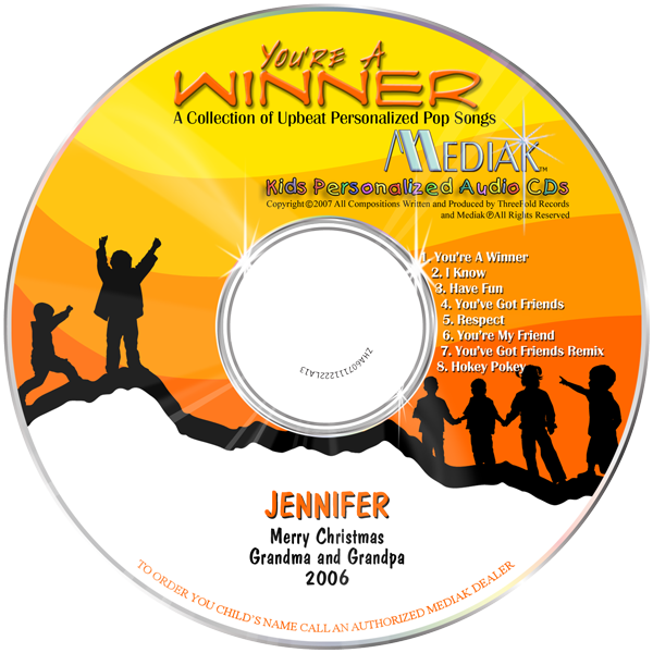 You Are You Are A Winner CD