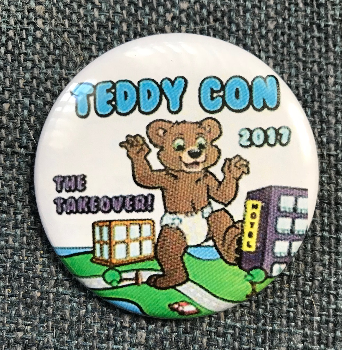 TeddyCon 2017 Button