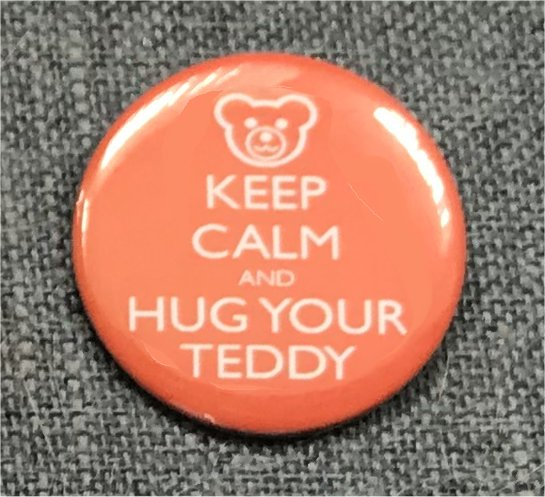Keep Calm and Hug Your Teddy
