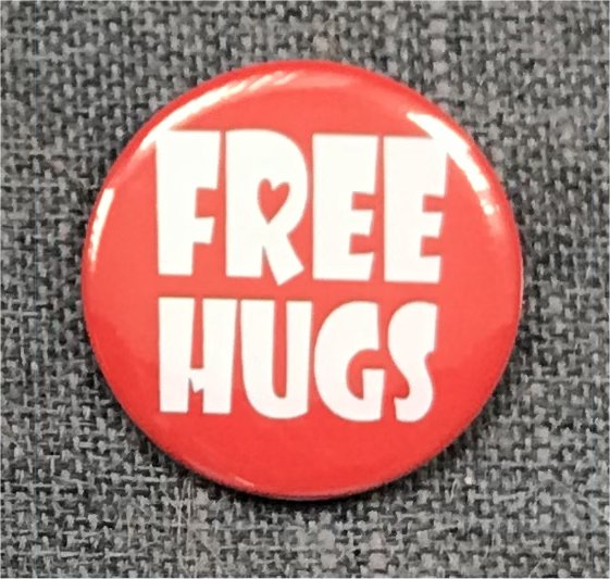 Free Hugs! - (Red and White)