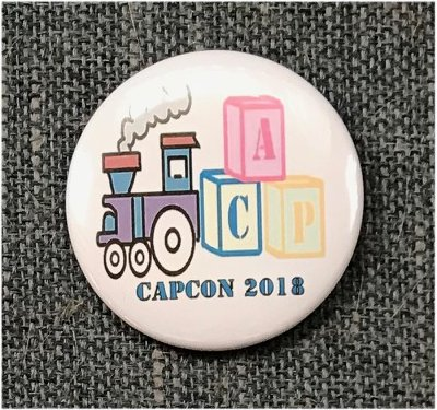 CAPcon button 2018