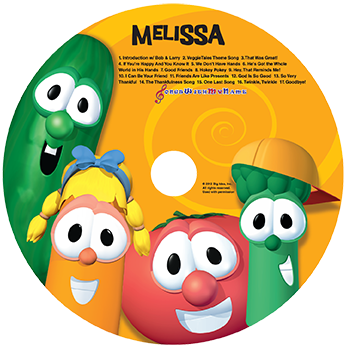 MP3 - Sing Along With Veggie Tales